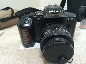 Nikon F-401x SLR Camera Kit- including MacKinon 70-300mm Lens Kingston Kingston Area image 4