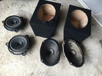 Car speakers 6x9 and boxes