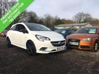 2015 15 VAUXHALL CORSA 1.2 LIMITED EDITION 3DR 69 BHP