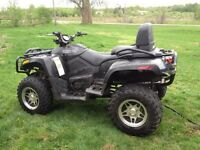 Mint 2008 arctic cat  trv 700 efi