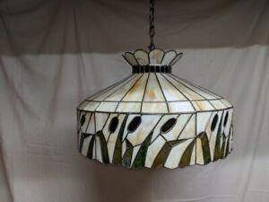 Cut glass hand made ceiling light