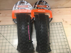 "Pair of Maxxis ""Medusa"" Tires"