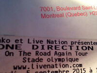 ONE DIRECTION September 5th Olympic Stadium