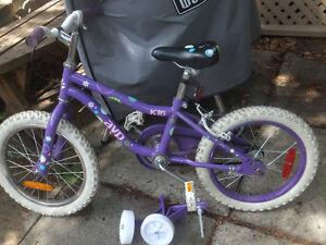 Vélo Enfant AVP K16 parfaite condition 50$