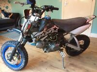 Original thump 120cc pitbike