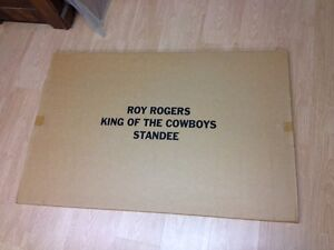 ROY ROGERS & TRIGGER STANDEE~KING OF COWBOYS Sarnia Sarnia Area image 3