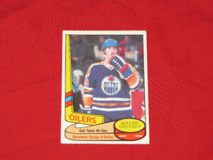 Discounted 1980s O-Pee-Chee hockey rookie & star cards