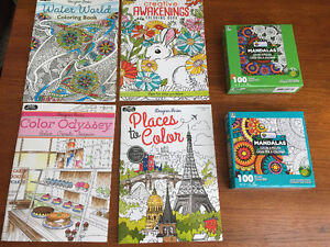 New! Assorted adult colouring books Kitchener / Waterloo Kitchener Area image 1