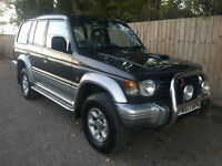 1997 P Mitsubishi Shogun 2.8 turbo diesel LWB Manual Work Horse