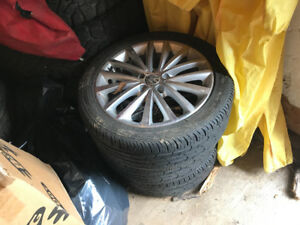 VW golf tires and rims