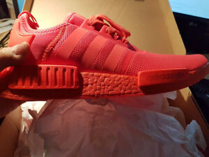 BRAND NEW Solar Red NMD R1 Size 12 US