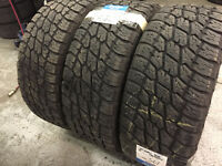 265/50R20 NITO ALL TERRAIN TIRES (3 TIRES)