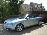 2003 53 Reg Audi A4 Cabriolet 1.8T Sport