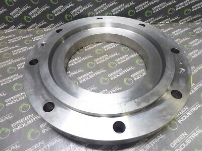Surplus Warman Weir Slurry Pump Cover Plate 316 Ss 16.5 Od 9 Id