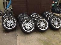 "18"" BMW MV1s MV2s Alloys 5x120"
