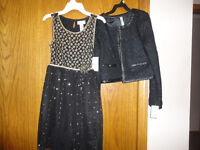 Girls Size 10 or 12 Dresses and Jacket - NEW