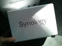 Synology DiskStation DS212J NAS with two 1TB drives