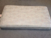 high quality crib mattress extra firm waterproof. in great shape