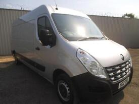 2012 RENAULT MASTER 2.3 DCI 125 LM 35 SAT NAV**FSH**AIRCON**BUY FROM £46 P/W** P