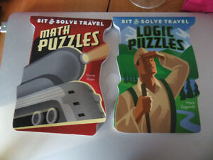 2 little puzzle books