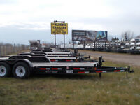 New Canadian Made Rainbow Utility Trailers Red Deer Alberta Preview