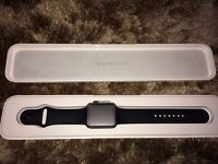 Apple Watch (sport) 42mm black. Great condition
