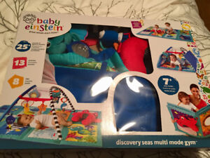 Baby Einstein discovery seas multi mode gym for sale