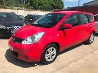 Nissan Note 1.6 16v auto 2011MY Acenta 5 DOOR HATCH AUTOMATIC