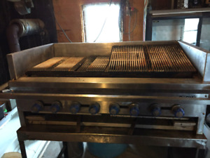 48 inch imperial char broiler
