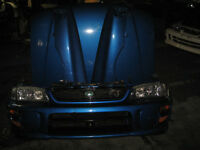 96 01 SUBARU IMPREZA GC8 NOSE CUT JDM IMPREZA GC8 NOSE CUT HOOD