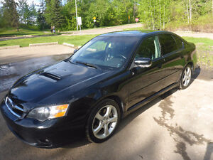 2005 Subaru Legacy 2.5 GT Limited Sedan Black on Black