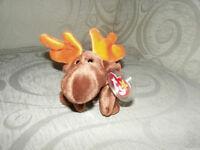 Beanie Baby Chocolate Moose RARE