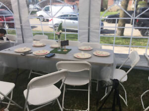 RENT A TENT 4 ANY EVENT! TABLES, CHAIR RENTALS & MORE