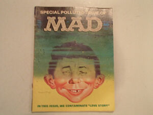 Mad Magazine No. 146 - Oct 1971 - SPEACIAL POLLUTED ISSUE - CONT Sarnia Sarnia Area image 1
