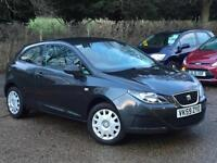 2009 Seat Ibiza 1.2 ( a/c ) SportCoupe S Grey 67,405 Miles 1 OWNER FROM NEW!!!!!