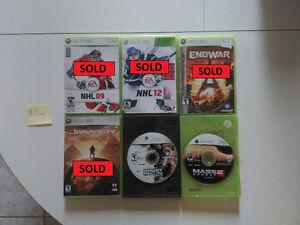 Various Xbox 360 games