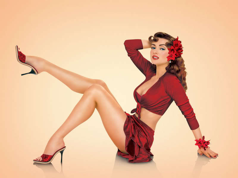 Heavenly Acessorize  Pin Up Glamour