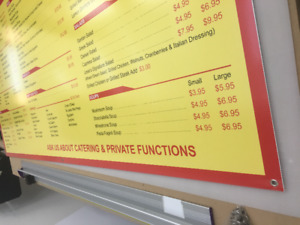 Limited Time Deals on Banners/Coroplast Signs