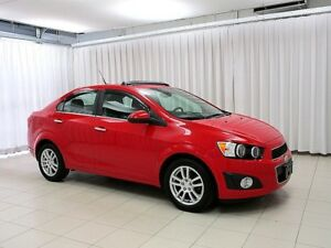 2013 Chevrolet Sonic GORGEOUS!! LT SEDAN WITH SUNROOF, TOUCH SCR