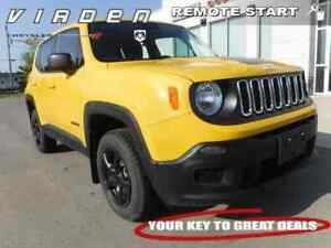 2016 Jeep Renegade Sport **LOCALLY OWNED!! LOW KMS!!**