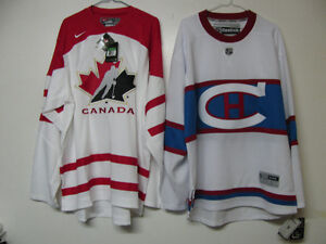 OFFICIAL NHL IIHF HOCKEY CLEARENCE JERSEYS TORONTO MONTREAL CA