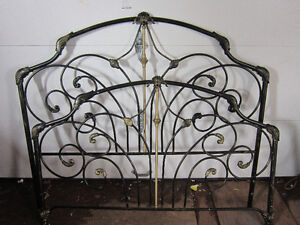 brass head&foot for queen size bed