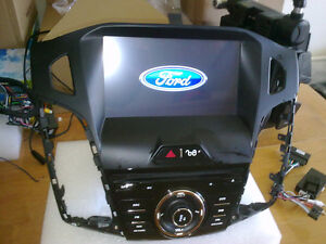 ford focus 8inch navigation bluetooth dvd player