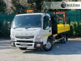 2015 15 MITSUBISHI FUSO CANTER 3.0 7C15 34 148 BHP TIPPER WITH PENNY CRANE DIESE