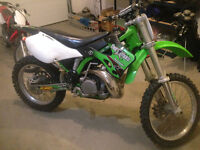 2001 KX 250 two stroke mint condition