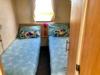 Spacious 8 berth static caravan on the Ayrshire coast , Scotland