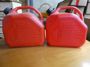 GAS CONTAINERS (2)  10L SIZE    $5 each.      (DARTMOUTH)