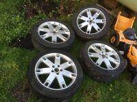 "20"" genuine Audi alloys"