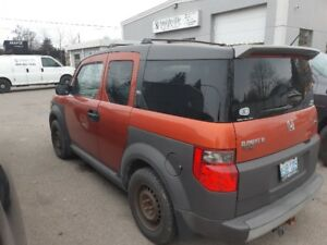 Honda Element and winter tires