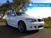 2011/61 BMW 1 SERIES 2.0 116i PERFORMANCE EDITION 3DR WHITE - MUST SEE!